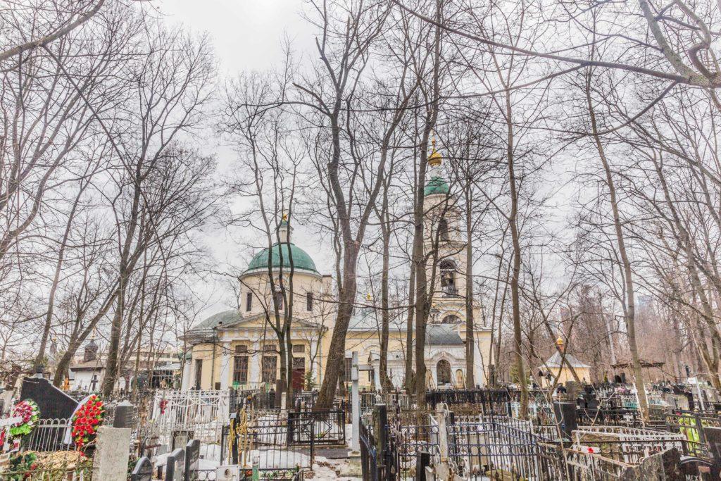 Храм Воскресения Словущего на Ваганьково
